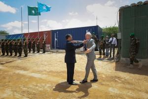 AMISOM-SRCC-and-UNSOM-SRSG-greet-each-other-in-Mogadishu