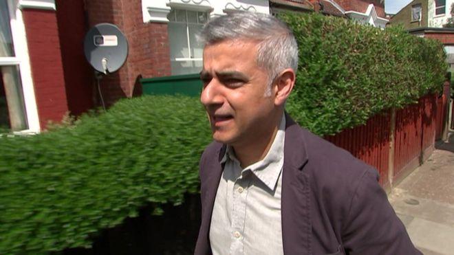 Sadik Kham new Mayer of Of London wins 2016 election