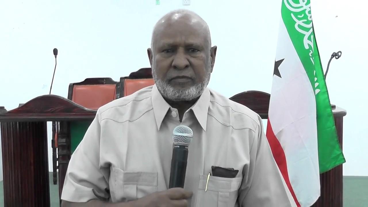 Guddoomiyaha Golaha Guurtida Somaliland