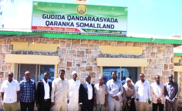 Guddiga Qandaraasyada qaranka Somaliland MADAXDA IYO SHIRKADAHA QANDARAASKA KU GUULAYSTAY