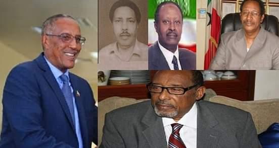 Madaxweyneyaashii Somaliland soo maray 1991 illaa 2019