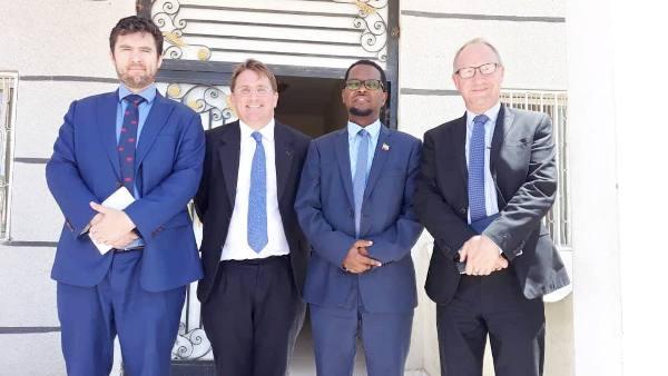 GUDDOOMIYAHA MAXKAMADDA SARE EE SOMALILAND IYO WEFTIGA SAFIIRKA INGIRIISKA EE SOOMAALIYA OO KULMAY 2019