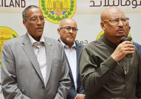 Hoggaamiyeyaasha Sadexda Xisbi ee Somaliland