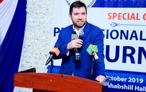 Stuart Brown Wakiilka Dowladda Britain u fadhiya Somaliland