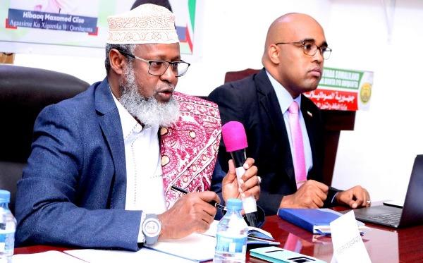 WASIIRKA DIINTA IYO AWQAAFTA SOMALILAND IYO AGAASIMAHA GUUD EE DIINTA 2020