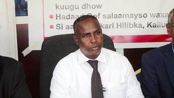 Agaasimaha guud ee Wasaradda Caafimaadka Somaliland Maxamed Cabdi Xergeeye 2020