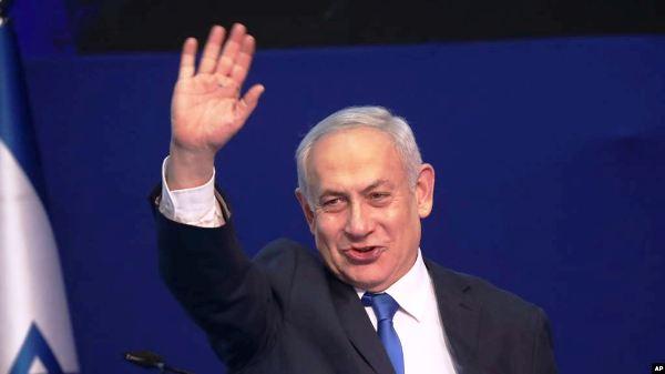 Ra'iisul-wasaaraha Sra'el Benjamin Netanyahu oo Mar kale ku Guulaystay Doorashada Sra'el 2020