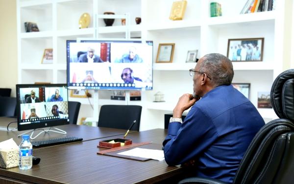 MADAXWEYNAHA SOMALILAND OO GUDDOMIYEY SHIRKA WASIIRRADA EE VEDIO CONFRANCE 2020