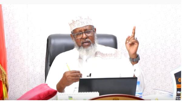 WASIIRKA DIINTA IYO AWQAAFTA SOMALILAND SHEEKH KHALIIL CABDILLAAHI AXMED 2020