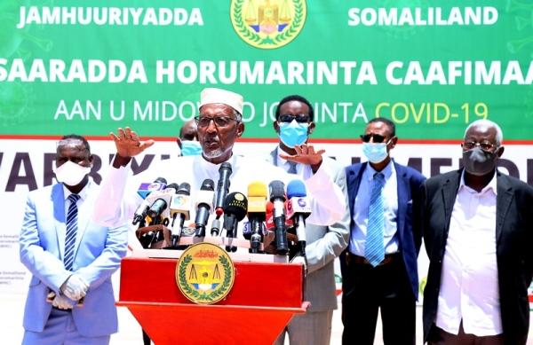 MADAXEWEYNAHA SOMALILAND MUUSE BIIXI CABDI IYO MASUULIYIINTA CAAFIMAADKA 2020