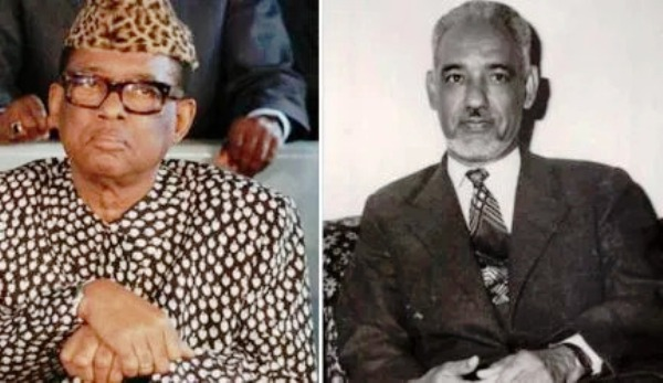 Mobutu Sese Seko iyo Mukhtar Wald Daddah