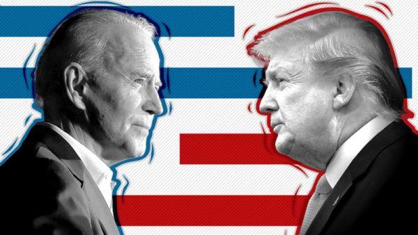 BIDEN AND TRUMP 2020