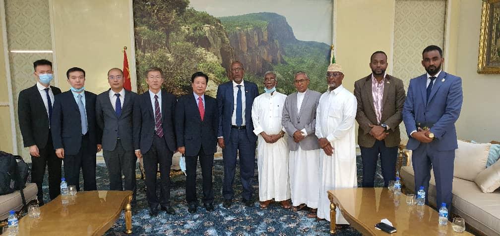 Kulanka China iyo Somaliland ee Madaxtooyada Hargeysa 2020