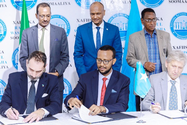 ITALY AND SOMALIA SINGED NEW AGREEMENT 2020
