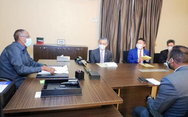 MADAXWEYNAHA SOMALILAND IYO SAFIIRKA TAIWAN EE HARGEYSA 2020