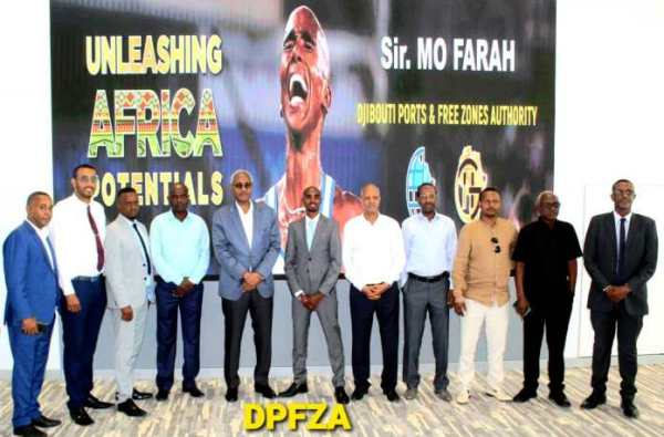 MO FARAH OO MADAXWEYNAHA DJIBOUTI XIL U DHIIBAY 2020