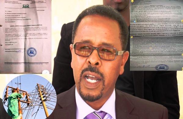 Guddoomiyaha Guddiga Tamarta Somaliland iyo Wareegtooyinka is-burinaya ee ka soo baxay 2020