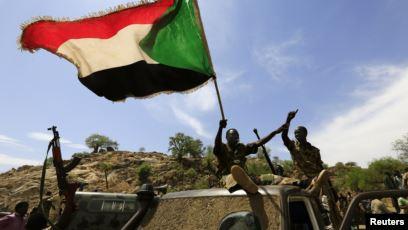 Sudan Military in border between Ethiopian