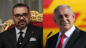 Boqorka Morocco iyo Raysal wasaaraha Israel
