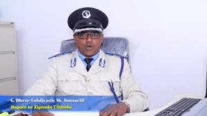 Hoggaan ku xigeenka Ciidanka Booliska Somaliland, Gaashaanle dhexe Cabdicasiis Sheekh Ismaaciil
