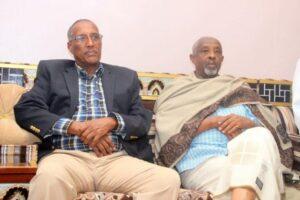 Madaxweyne Biix iyo Wasiir Maxamed Kaahin