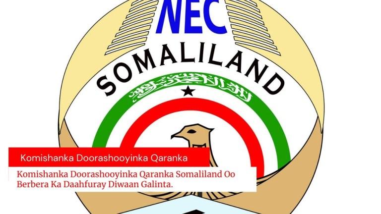 ASTAANTA GUDDIGA DOORASHOOYINKA QARANKA SOMALILAND 2021