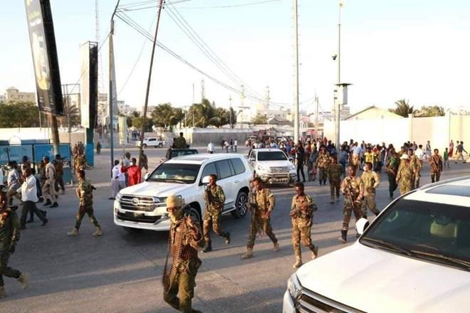 Ciidamada uu hoggaaminayo Gen. Indhacade ee la wareegay Taallada Daljirka Dahsoon
