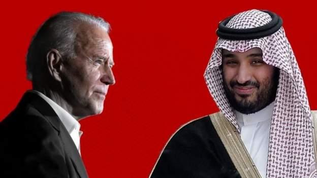 Joe Biden iyo Maxamed Bin Salmaan