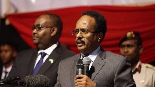 MADAXWEYNAHA Puntland iyo Madaxweynaha Waqtigu Dhammaaday ee Somalia Farmaajo
