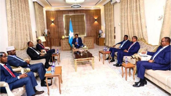 Madaxda Waqtigoodu dhammaadya ee Federaalka iyo Maamul-goboleedyada Somalia Dhuusamareeb 2021