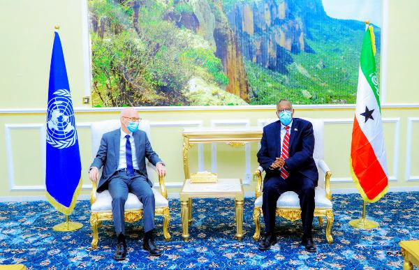 WAKIILKA QARAMADA MIDOOBAY IYO MADAXWEYNAHA SOMALILAND 2021