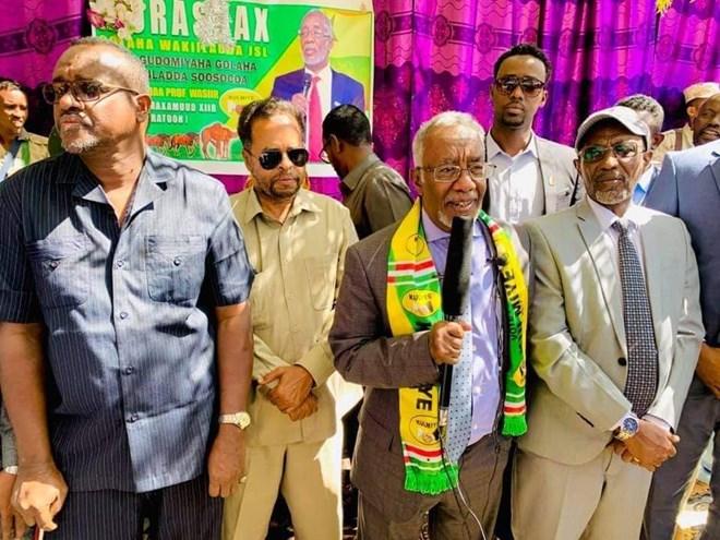 Wasiirka Arrimaha Dibadda Somaliland, Yaasiin Xaaji Maxamud Xiir Faratoon