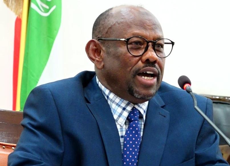 Wasiirka Xanaanada Xoolaha Somaliland, Siciid Sulub Maxamed
