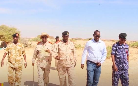 Weftiga Abaandulaha Ciidamadda Milateriga Somaliland ee gaadhay Tukaraq