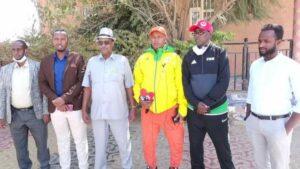 Weftiga Wasiirka Ciyaaraha Somaliland ee gaadhay Jigjiga