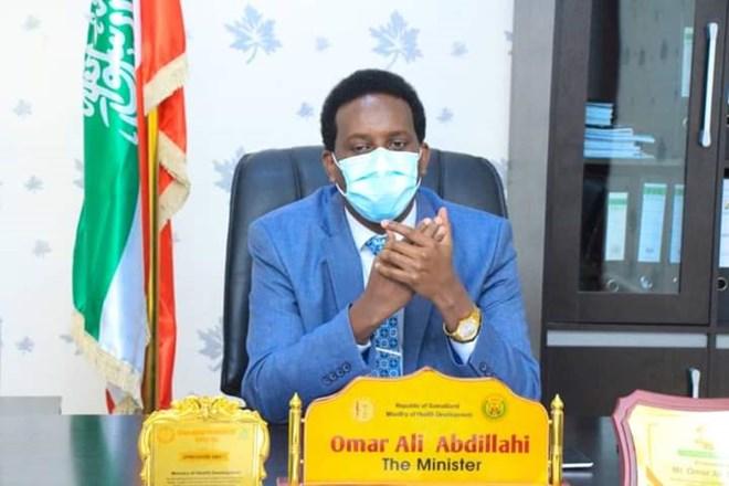 Wasiirka caafimaadka Somaliland, Cumar Cali Cabdilaahi