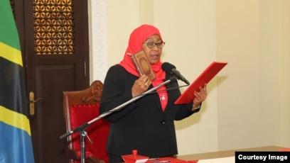Samia Hassan oo noqotay Madaxweynaha Tanzania 2021