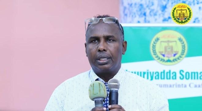 Agaasimaha guud ee Wasarada Caafimadka Somaliland, Dr. Maxamed Cabdi Xergeeye