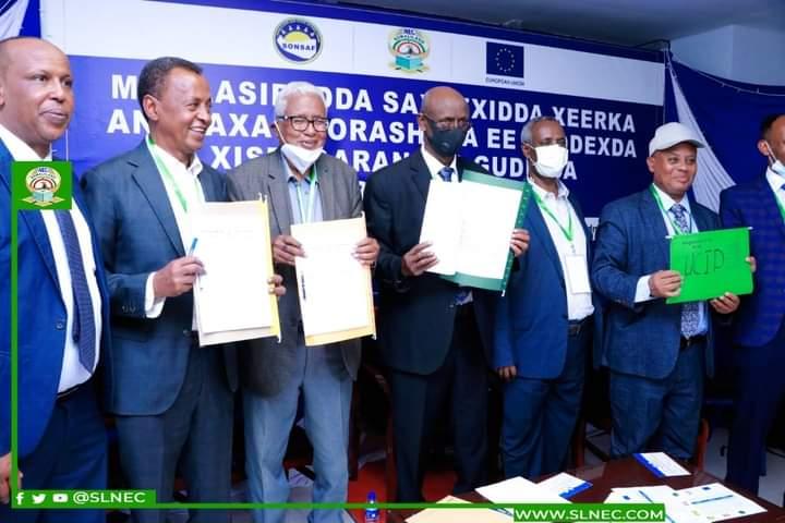 Guddiga doorashooyinka Somaliland iyo Saddexda Xisbi