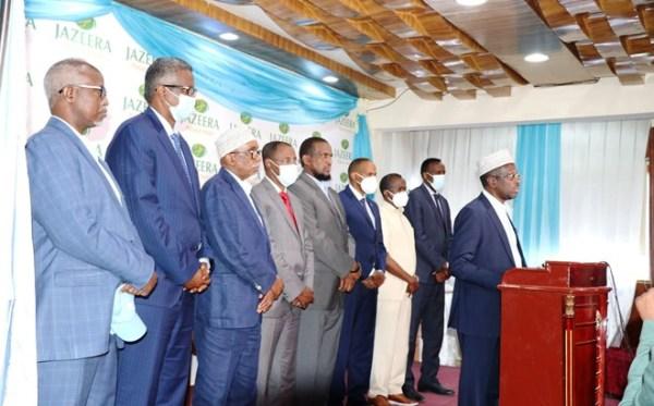 MIDAWGA MUSHARRAXIINTA SOMALIA OO BAAJIYEY BANNAANBIXII SABTIDA 6-03-2021