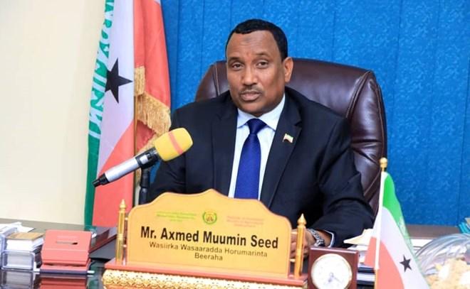 Wasiirka beeraha Somaliland, Axmed Muumin Seed