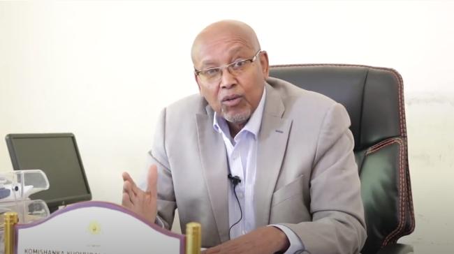 Guddoomiyaha Komishanka xuquuqal iinsaanka Somaliland