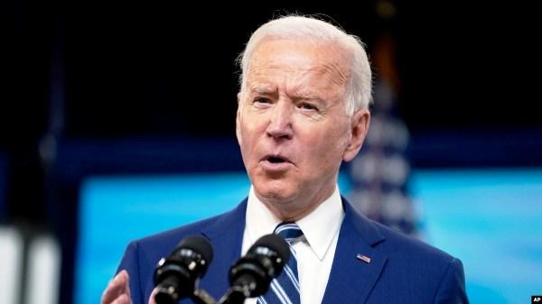 Madaxweynaha Maraykanka Joe Biden
