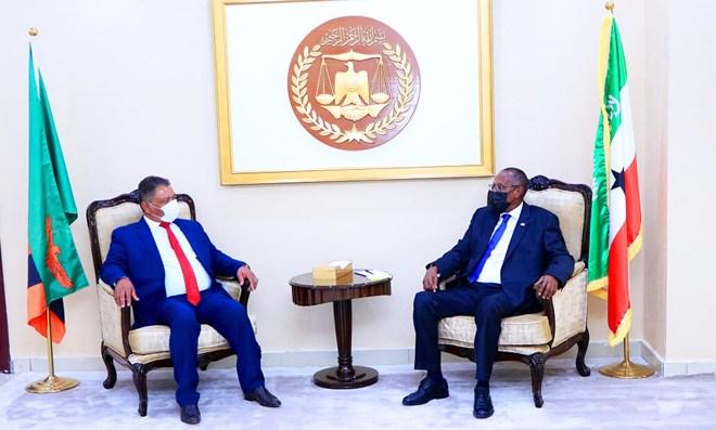 Madaxweynaha Somaliland iyo Wasiirka Cadaaladda Zambia