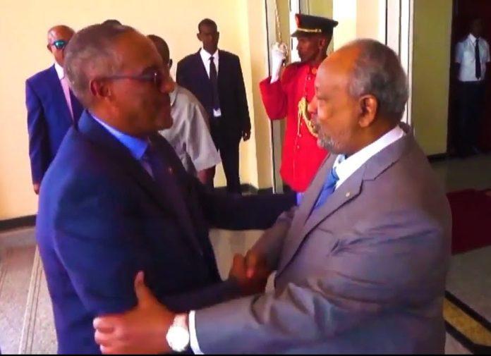 Madaxweyneyaasha Djibouti iyo Somaliland