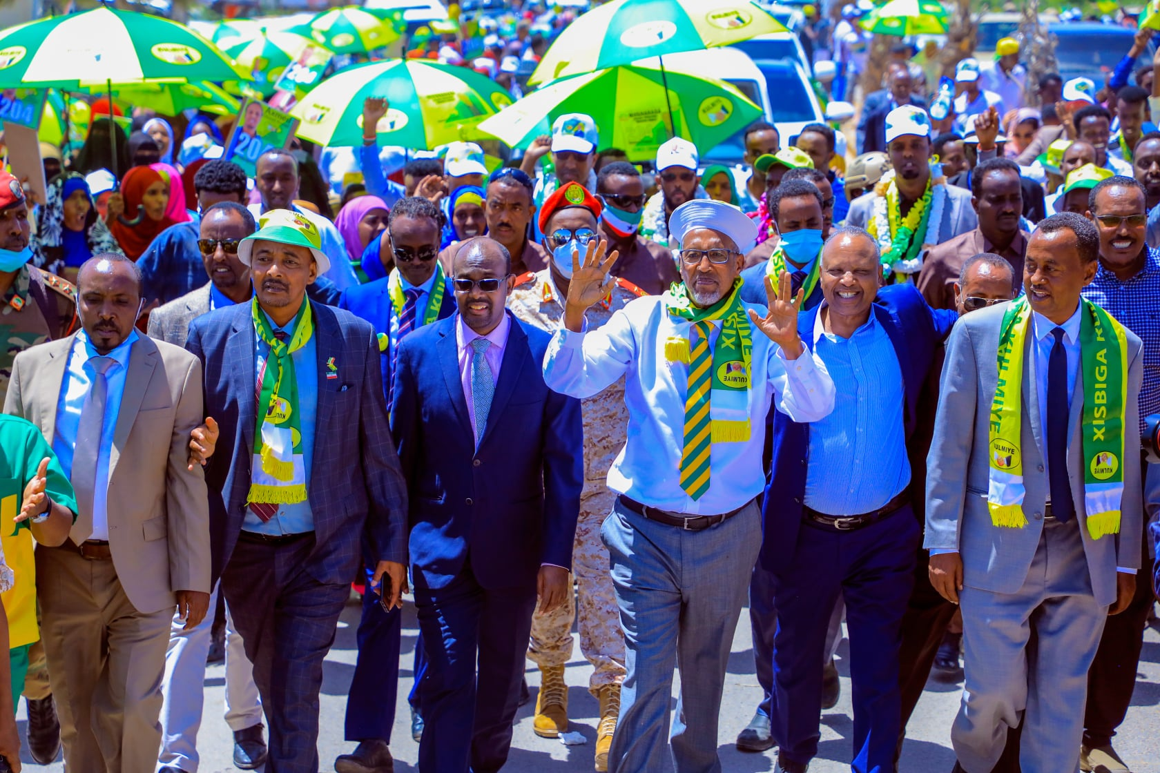 Madaxweynaha Somaliland Muuse Biixi