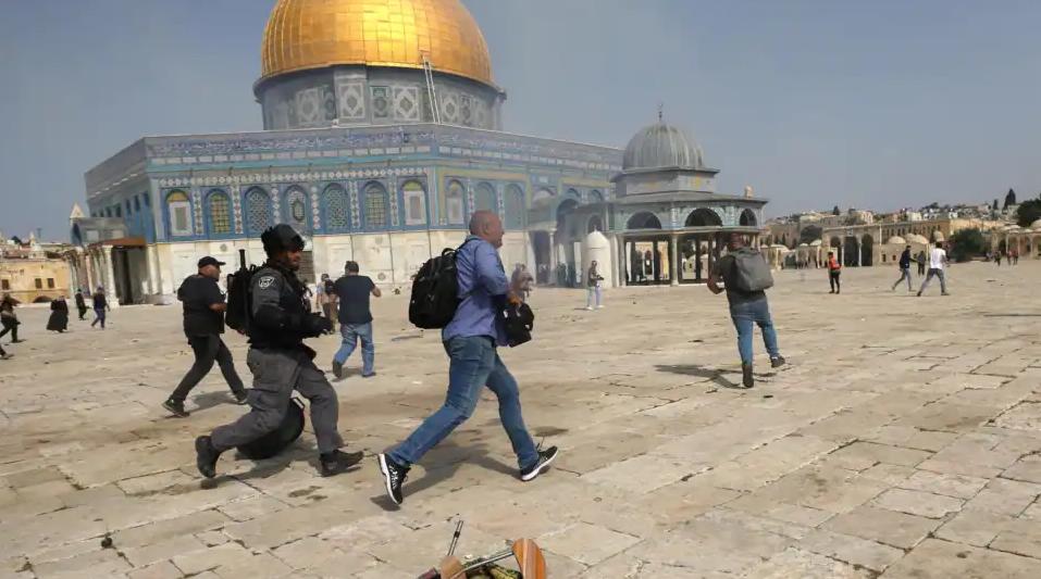 Rabshadaha ka dhacay Masjidka Al-Aqsa