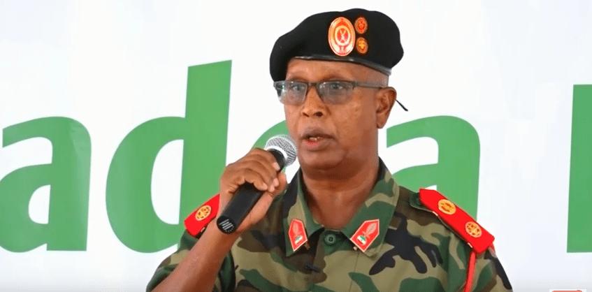 Taliyaha ciidanka Milateriga Somaliland, Nuux Ismaaciil Taani