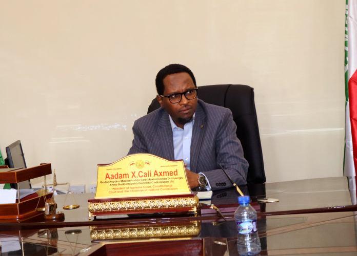 Guddoomiyaha Maxkamada sare ee Somaliland