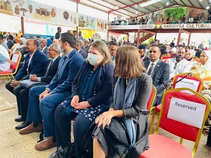 Wufuudda Beesha Caalamka ee Bandhigga Buugaagta Hargeysa 2021